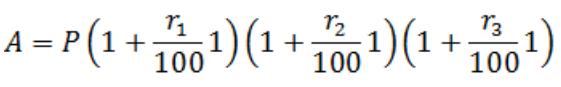 compound interest and simple interest formula